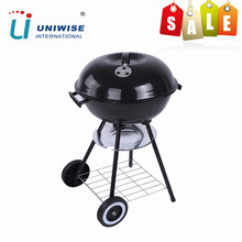 Trolley Portable Weber Style Barbecue Charcoal BBQ for Outdoor
