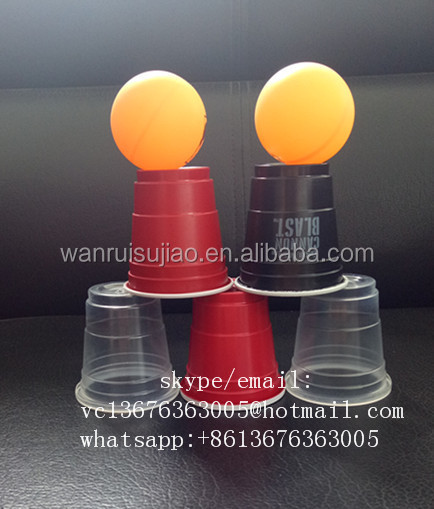 PC-5R 50ml disposable plastic wine cup/2oz tasting cup for market