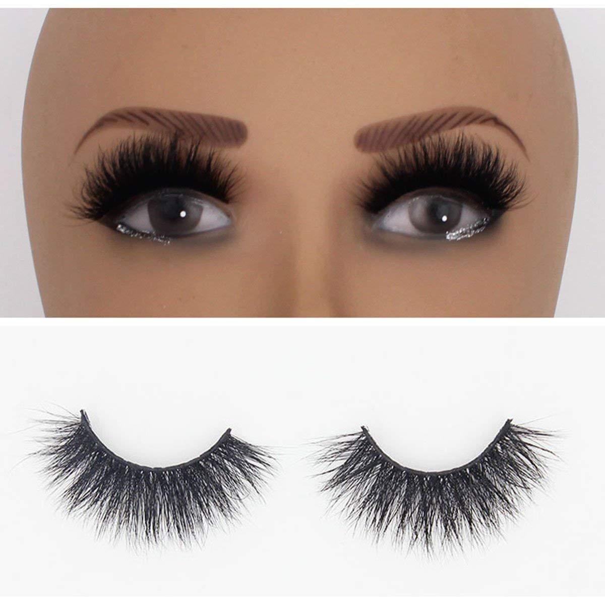 1659dad6009 Get Quotations · SD70 3D Mink Eyelashes Natural False Eyelashes Makeup  Strip Eyelashes 100% Fur Fake Eyelashes Hand