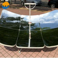 home use foldable rectangle type high efficiency solar stove
