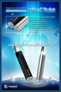 2015 best selling ecig battery Joyetech ego-c twist battery with changeable Voltage huge stock