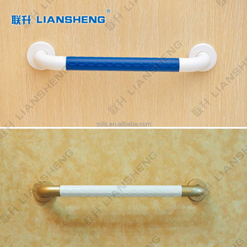 Bathroom Safety Wood Door Grab Bar