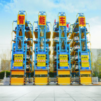 Circulating Car Parking System Rotating Car Parking