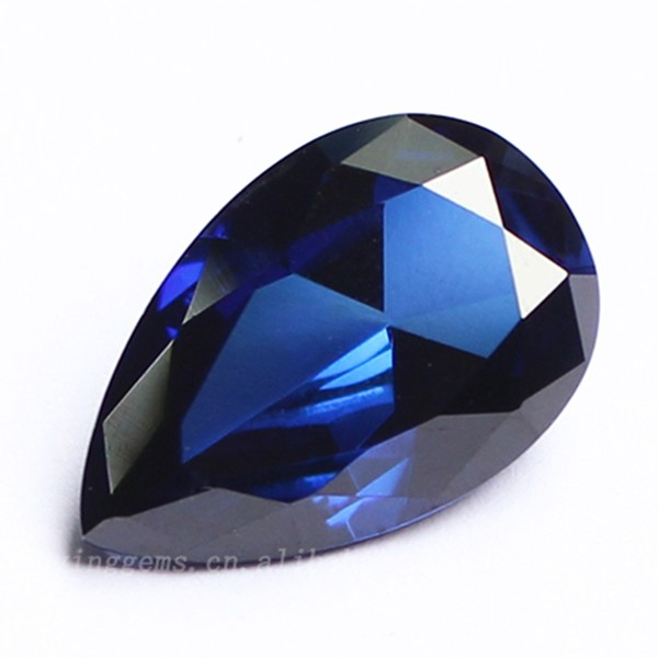 2017 Best Quality Blue Bangkok Sapphire With Pear Shape Sapphire For  Crystal Watches Jewel Making Price - Buy Sapphire Crystal Watches  Prices,Bangkok