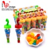 halal umbrella cartoon shaped mixed fruit jelly bean soft chewing candy