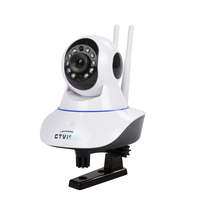 Dome Camera Pan/Tilt/Zoom Wireless IP Security Surveillance System 2 megapixel ip camera with antenna