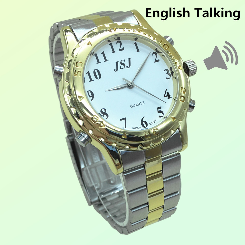 Newest English Talking Watch For The Blind And Elderly Or ...