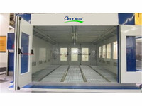 Hot sell Europe design cabinet spray booth/spray bake paint booth/ car spray booth for sale with CE (2 years warranty time)