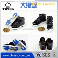 Air jordan 3d sneaker keychain/3d sneaker key ring/3d air jordan 11 key chain wholesale