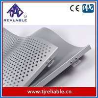 Decorative Construction Material Punched Aluminum Exterior Wall Panels with PVDF Coating 15-Years Warranty