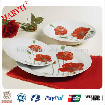 Porcelain Salad Server Set / Motheru0027s Day Gift The Red Carnation Designing Cheap Dinner Sets /  sc 1 st  Alibaba & Porcelain Salad Server Set / Motheru0027s Day Gift The Red Carnation ...