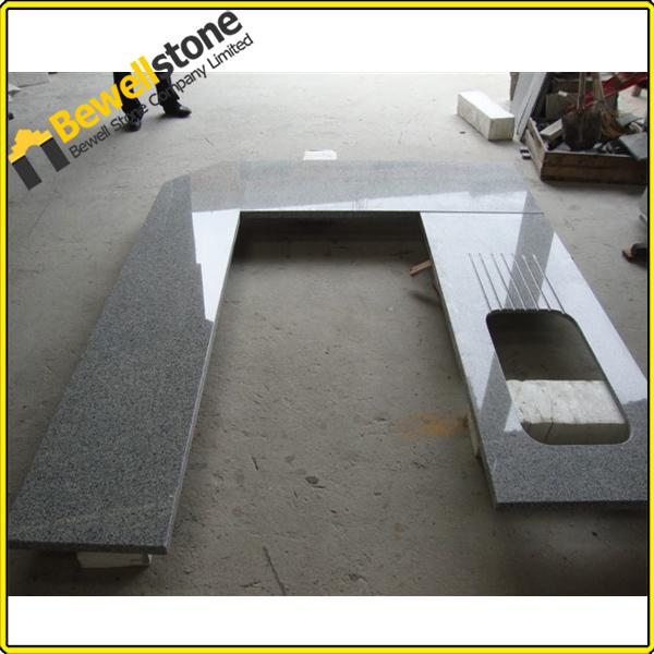 China g603 gris granito prefab encimera de granito home for Encimera de granito gris