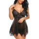 Women Hot Transparent Sexy Babydolls Chemise