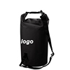 Custom new fashion beach party-going college kids waterproof 2-30L sports shoulder outdoor pvc dry bag with your logo