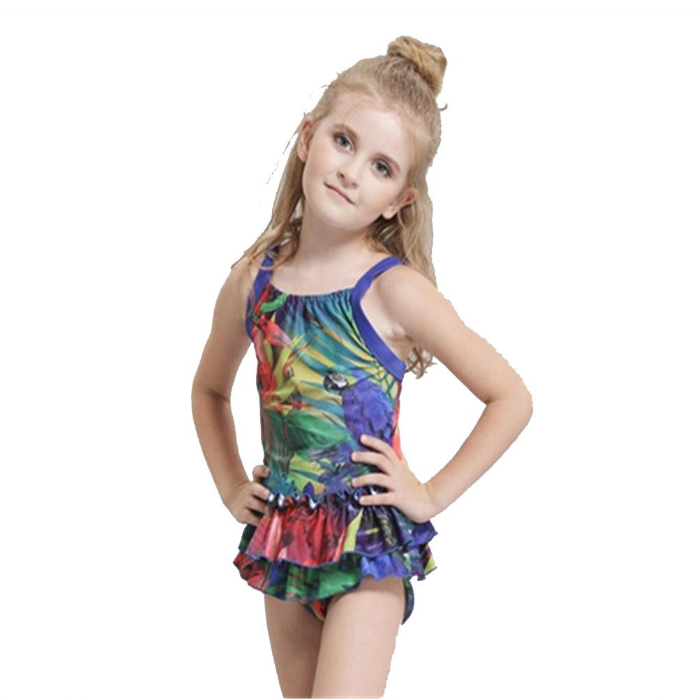 a80a5ba898f Buy 2017 New One Piece Swimwear Cute Baby Toddler Kids Floral Printed  Flouncing Design Children Swimsuits Bathing Suits Beachwear in Cheap Price  on ...