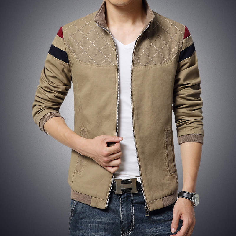 2017 newest winter fancy leather jacket for men JL-812