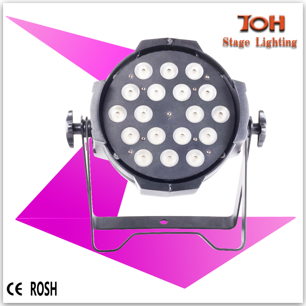 Factory supply 18pcs Zoom Rgbw Led Par Can/ led wash Stage Light Wash Led / 18x10w Par 4in1