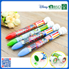 Promotional novelty multifunctional 6 ink stamp ballpoint pen