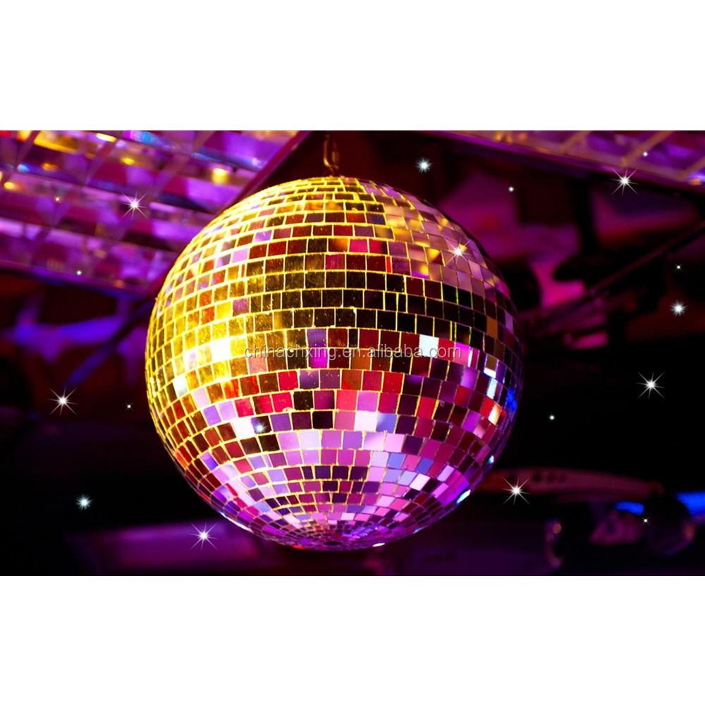Disco Ball Decorations Cheap: 60cm Hand Made Glass Rotating Mirror Balls For Shop