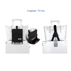 New Style Portable Travel Organizer Luggage Straps Suitcase Belt With RFID Secure Luggage Storage Bag