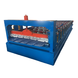 cold roof panel steel sheet roll forming machine
