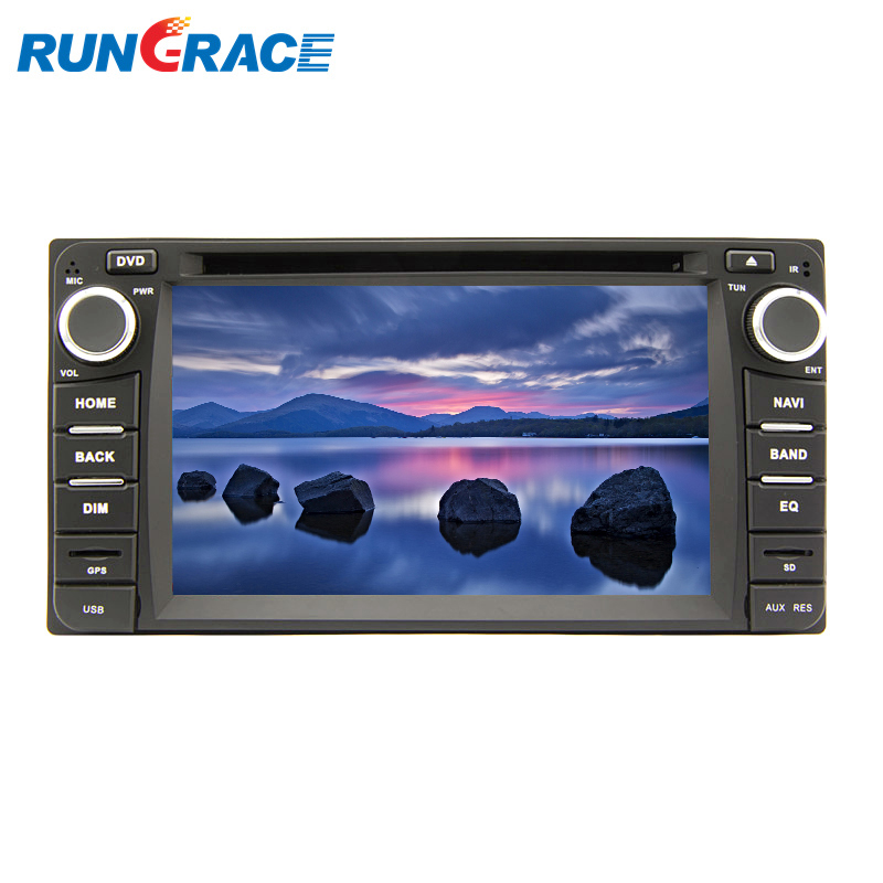 Android 6.0 universal 6.2 inch <strong>car</strong> gps navigation dvd wifi 3G for fortuner