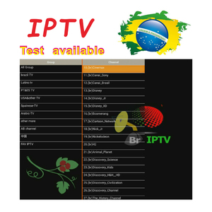 Free test code for 24 hours Brasil stable server IPTV subcription a year account