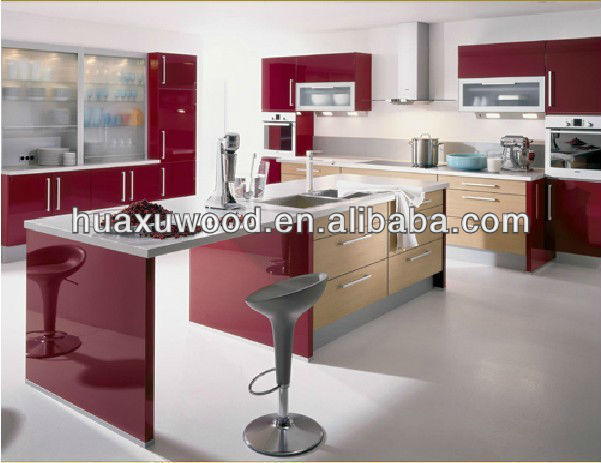 De color rojo brillantenogal mueble cocinaCocinasIdentificación