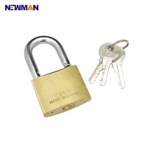 newman A2014 The Best Globe brand Custom 25mm High Security Heavy Duty Harden Unbreakable Safety Brass Padlocks with master key