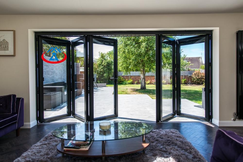 product-Zhongtai-Aluminium Large Folding Door Design For House or Office-img