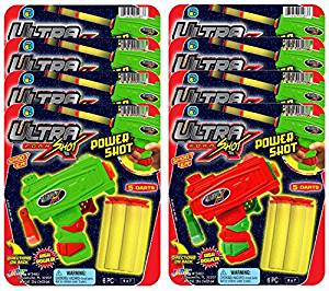 Ja-Ru Ultra Foam Shot Power Party Favor Bundle Pack