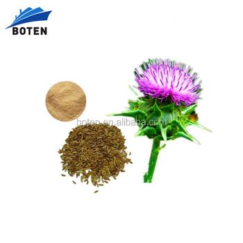 Factory Supply milk thistle extract powder silymarin 80%