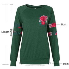 Amazon hot style lady's autumn/winter fashion print T-shirt
