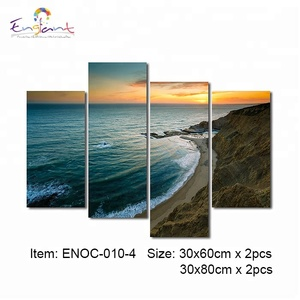 Rolled printing canvas only drop ship free service 5 panel oceam image