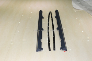 car accessories ABS materail side skirt for golf 7 r20 type