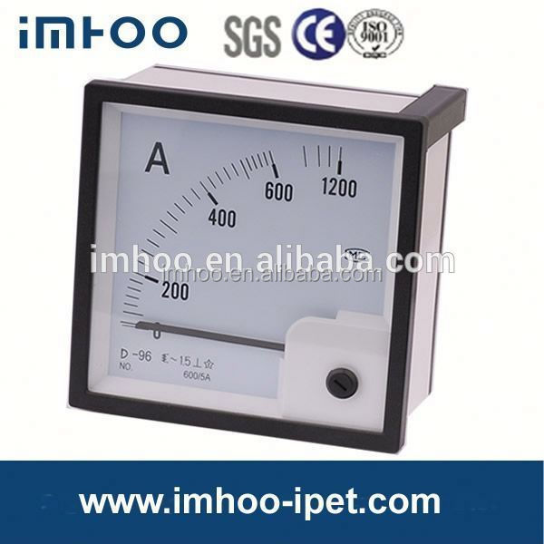Moving Iron AC Ampmeter 96*96 moving iron ammeter