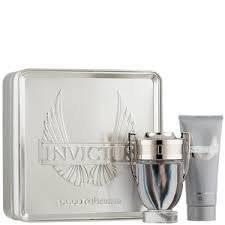 INVICTUS gift set 2pcs. [3.4 Fl. Oz. Eau De Toilette Spray + 3.4oz. shampoo ] Men.