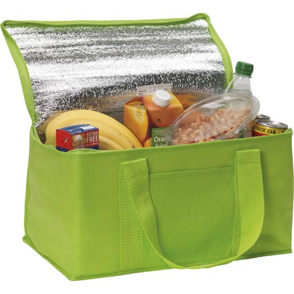 Large Aluminium Foil Food Lunch Delivery Insulated Grocery Cooler Thermal Tote Bag Product On Alibaba