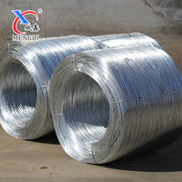 12 gauge galvanized wire / 500kg/coil hot dipped galvanized wire