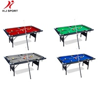 6FT 7FT Folding Leg Snooker Billiard Table cheap price
