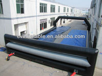 customize inflatable football pitch/inflatable football field