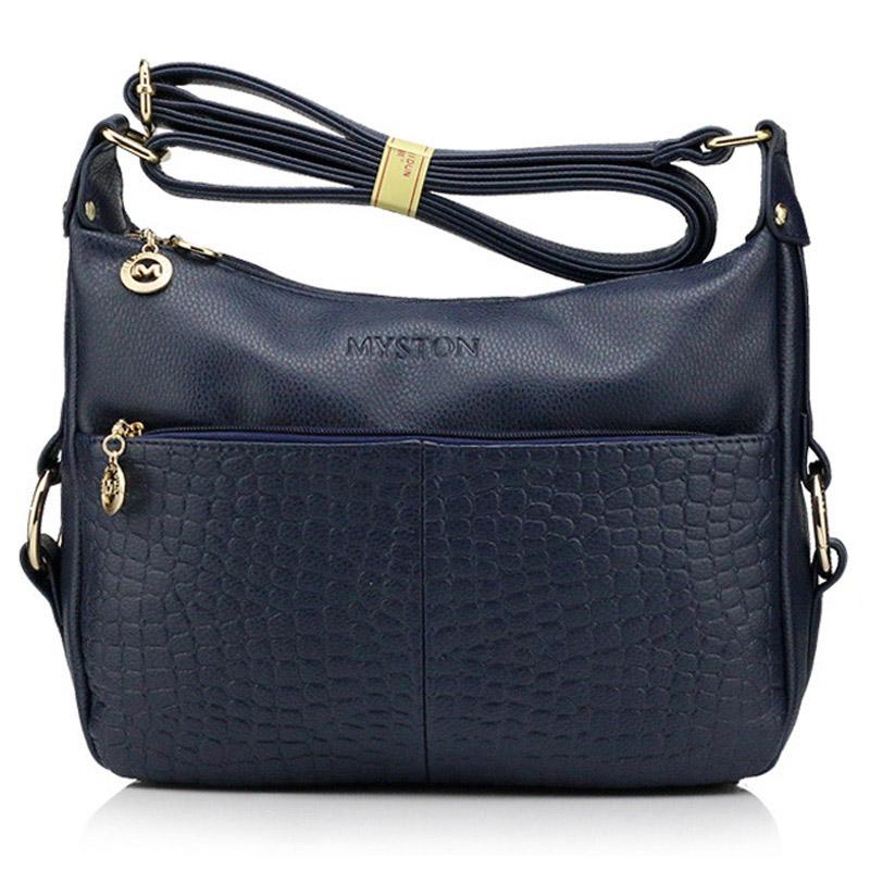 New arrival real genuine leather messenger bags women crossbody brand bag  long strap small flips bolsas bc7fa6fc682a2