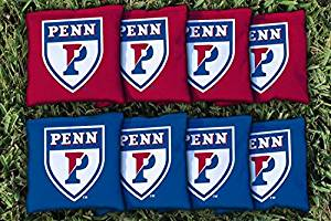 NCAA Replacement All Weather Cornhole Bag Set NCAA Team: University Of Pennsylvania Penn Quakers