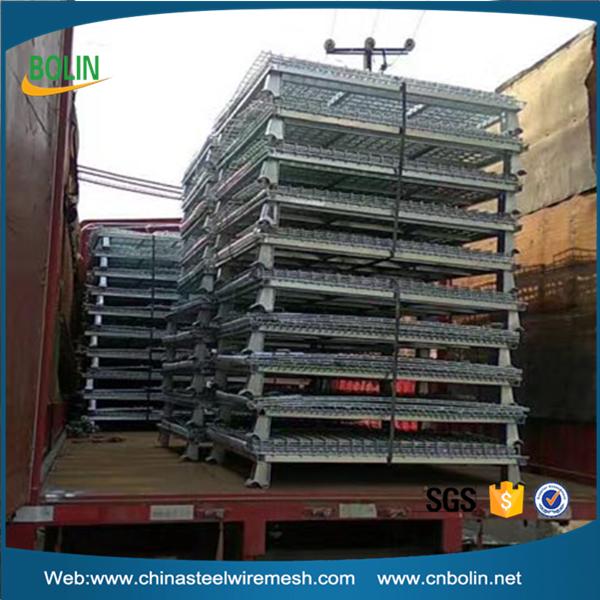 Складная корзина нержавеющая сталь 304 контейнер клетка