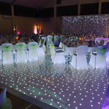LED Wedding Event Hall Lighting Starlit Led Dance Floor