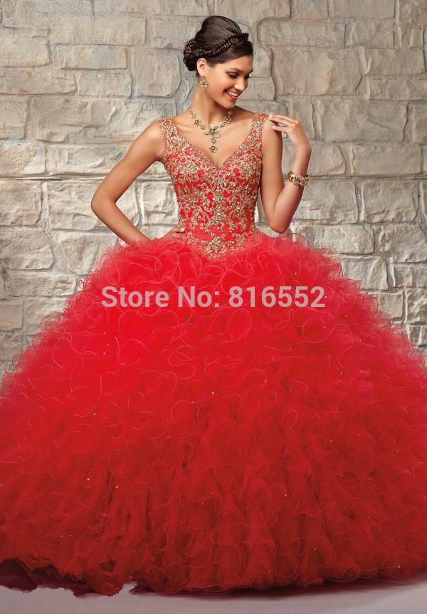 20c8bc803 vestidos de xv anos 2015 color rojo