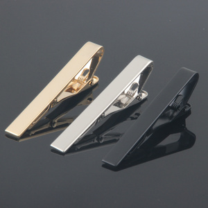 Factory direct supply tie clips bar and cufflinks for wedding