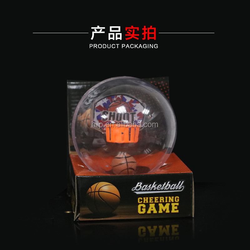 2017 Creative Electronic Shooting Basketball with Music and Light In Hand Basketball Game Fidget Basketball Toy