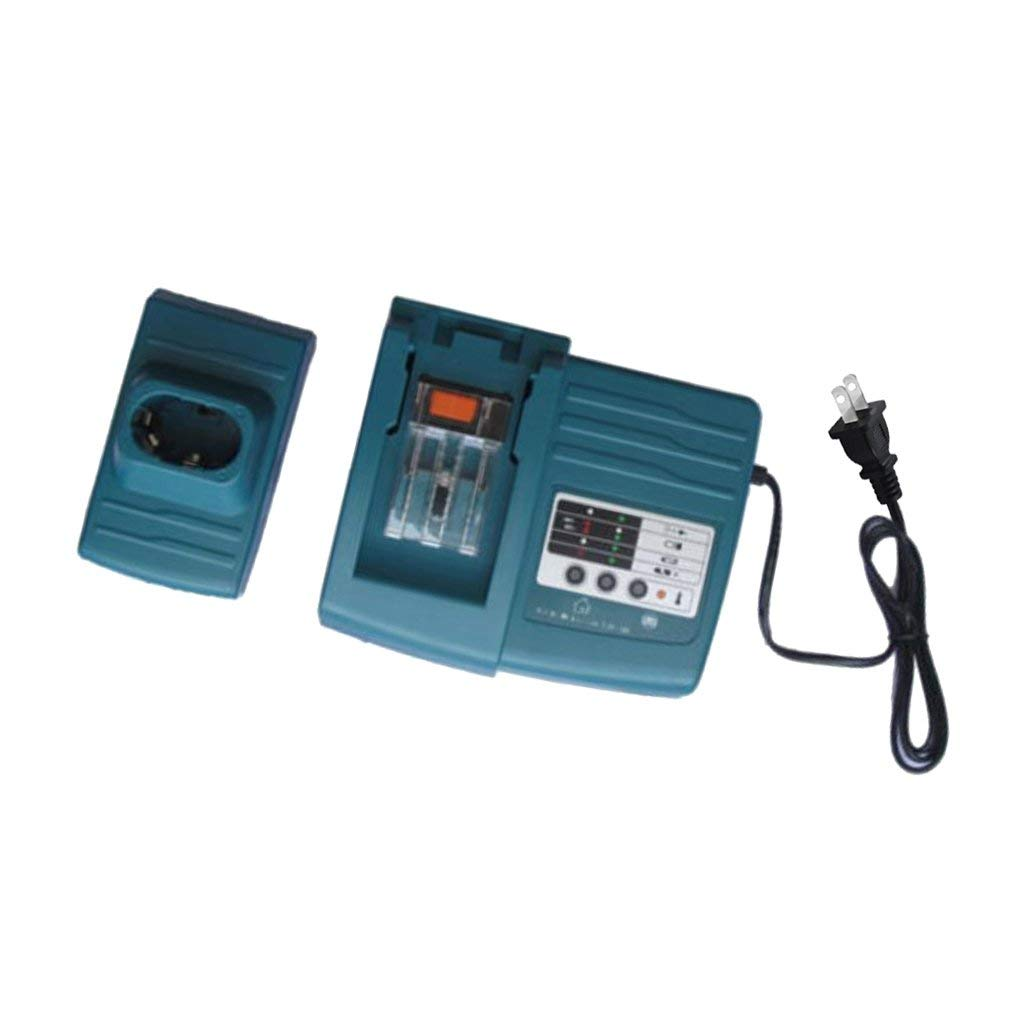 MagiDeal Fast Battery Charger 7.2V-18V 1.5A Replacement for MAKITA BL1815 BL1820 BL1830 BL1430 DC18RA DC14SA