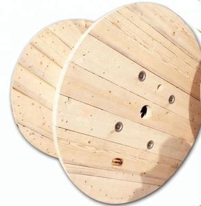 Large Empty Wooden Cable Spools For Sale
